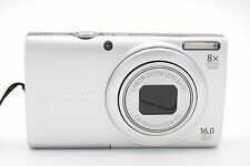 Canon PowerShot A4000 IS 16.0MP 3''SCREEN 8x ZOOM DIGITAL CAMERA - SILVER