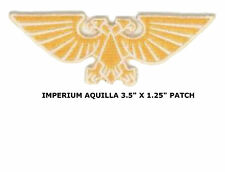 Warhammer 40k Imperial Aquilla Badge Sew On Applique Patch