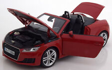 Minichamps 2014 Audi TT Roadster Red Dealer Edition 1/18 Scale New! In Stock!