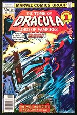 TOMB OF DRACULA #60 1977 VF/NM DRACULA'S SON DEAD!BEST READ OF THE 1970'S!!!