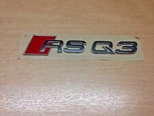 Original Audi rs q3 inscription q3 rs Lettrage Emblème rsq3