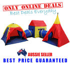 Children Kids Toddlers In / Out Door Play Ground Tent Cubby House Tunnel Teepee