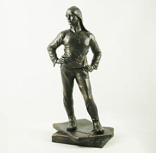 MALE STUDY 'THE DOCKER' STATUE | FIGURINE GAY ART SCULPTURE | CONSTANTIN MEUNIER