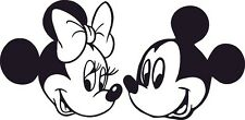 Micky and Minnie Mouse 550mm High Vinyl,  Sticker.WALL ART