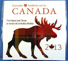 2013 Everyday Canada - The Maple Leaf Tartan with Rare Half Dollar Coin Gift Set