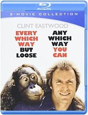 EVERY WHICH WAY BUT LOOSE /ANY WHICH WAY YOU CAN  - Blu Ray - Sealed Region free