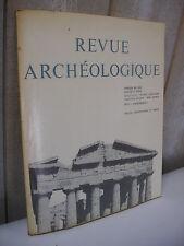 REVUE ARCHEOLOGIQUE 1973 n°2 île de Bérézan Argamemnon temple d'Héra de Paestrum