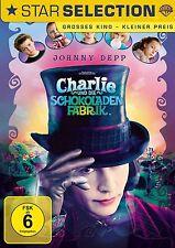 Charlie und die Schokoladenfabrik - Johnny Depp - Tim Burton - DVD - OVP - NEU