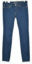 NEW Levis SKINNY Dark Blue INDIGO Low Rise Stretch Jeans Size 12 W30 L32