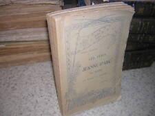 1910.fêtes de Jeanne d'Arc au Mans et dans la Sarthe / Robert Triger.autographe