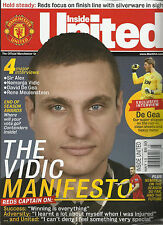 INSIDE UNITED,  MAY,2013  UK  ( THE VIDIS MANIFESTO  * 4 MAJOR INTERVIEWS * )