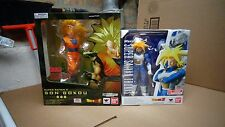 S.H FIGUARTS SUPER SAIYAN 3 SON GOKOU /SUPER SAIYAN TRUCKS DRAGON BALL Z BANDAI