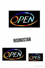 TOP QUALITY RESIN LED OPEN SHOP SIGN DISPLAY WINDOW LIGHT
