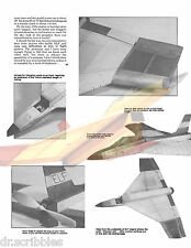 "FREE FLIGHT 20""  FIGHTER PLANE FOR TELCO CO 2 MOTOR MODEL AIRPLANE PLANS & NOTES"
