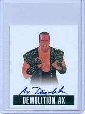 "DEMOLITION AX ""SP AUTOGRAPH CARD #A-DA1"" LEAF ORIGINALS WRESTLING 2014 WWE"