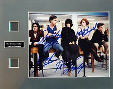 The Breakfast Club Signed Photo Film Cell Presentation