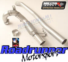 "Milltek SSXVW262 Golf GTI MK7 3"" Decat Downpipe & Connect Pipe Stainless Exhaust"