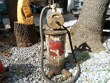 Vintage Gas Service Station Motor Oil Pump Antique Car Garage Other Automobilia