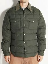 2014 NWT MENS ELEMENT SHAPLEIGH JACKET $120 L army green puff down feather