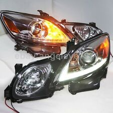 2006 to 2011 Year For Lexus GS300 GS350 GS430 GS450 LED Head Lamp Silver Housing
