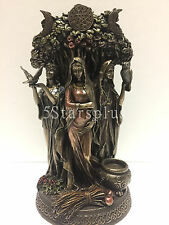 Irish Danu The Triple Goddes of the Tuatha De Danann Statue Sculpture Figurine