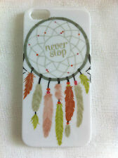 Dream Catcher NEVER STOP Printed iPhone 5 5s Case for iPhone 5s for iPhone 5