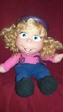 Vintage 1994 Fisher Price Puzzle Place Jody Doll Soft Plush Vinyl head, Hat Doll