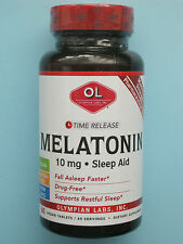 Melatonin Time Release 10 mg 60 Veggie Tablets