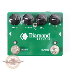 Brand New Diamond TRM1 Analog Tremolo with Tap Tempo Guitar Effects Pedal