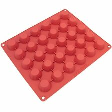 Freshware 30-Cavity Silicone Chocolate, Candy and Peanut Butter-Cup Mold , New,