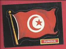 1970 Topps Flags of the World # 12 TUNISIA