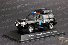 Nissan Patrol 2005 Hong Kong Police SDU Command Car 1/43 Diecast Model