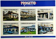 Cartolina Pubblicitaria Progetto Concessionari Fiat Non Viaggiata