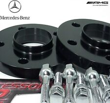 2 Pc BLACK ANODIZED MERCEDES C CLASS HUB CENTRIC Wheel Spacer 20mm MB5112-20B