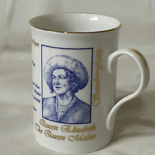 Queen Mother 2000 Lark Studios Bone China 100th Birthday Mug Glamis Castle