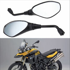 Universal Motorcycle Rear View Mirror 10mm For BMW F650GS F800GS F800R Aprilia