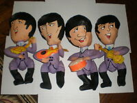 The Beatles COMPLETE SET OF FOUR INFLATABLE NEMS 1966