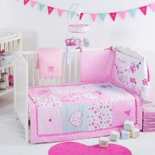 Red kite baby girl cot cotbed ensemble de literie pretty kitty grand lit de qualité 4 pièces