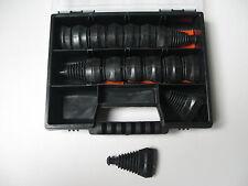 Superseal Gummitüllen 15 x 5-polig + Box Knickschutzlamellen Auto Motorrad Boot