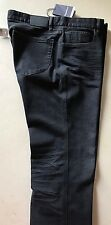 New $455 Zegna Sport Jeans Pants Black/Gray 38 US ( 54 Eur )
