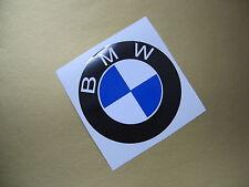 BMW plain roundel sticker/decal x2