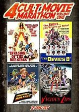 Cult Movie Marathon (Unholy Rollers, Invasion of the Bee Girls, Devil?s Eight &