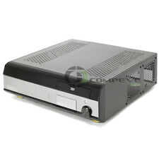 HTPC KT-600 Media PC Case Barebone Brushed Aluminum 550W PSU Home Theater Remote
