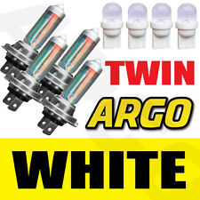 4 X H7 499 Xenon Super White 55w Doble Twin Pack Set Faros Focos Faros