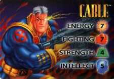CABLE MARVEL OVERPOWER VERY RARE IQ HERO / CHARACTER - BEST PRICES ON ALL CARDS!