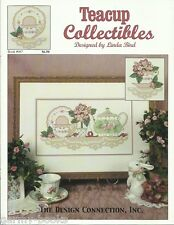 Teacup Collectibles Linda Bird Design Connection #87 Cross Stitch Patterns NEW