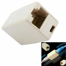 10PC Newtwork Ethernet Lan Cable Joiner Coupler Connector RJ45 CAT 5 5E Extender