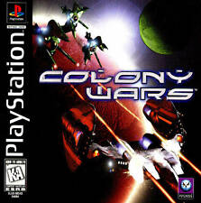 Colony Wars - PS1 PS2 Playstation Game Complete