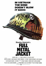 FULL METAL JACKET MOVIE POSTER A4 260GSM