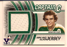 BRIAN BELLOWS IN THE GAME ITG FINAL VAULT GAME USED JERSEY 1/1